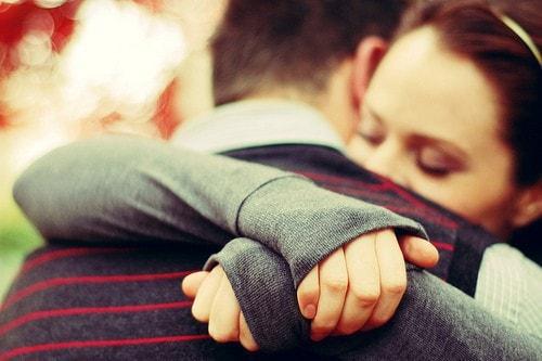 Прикольные картинки обнимашек-целовашек