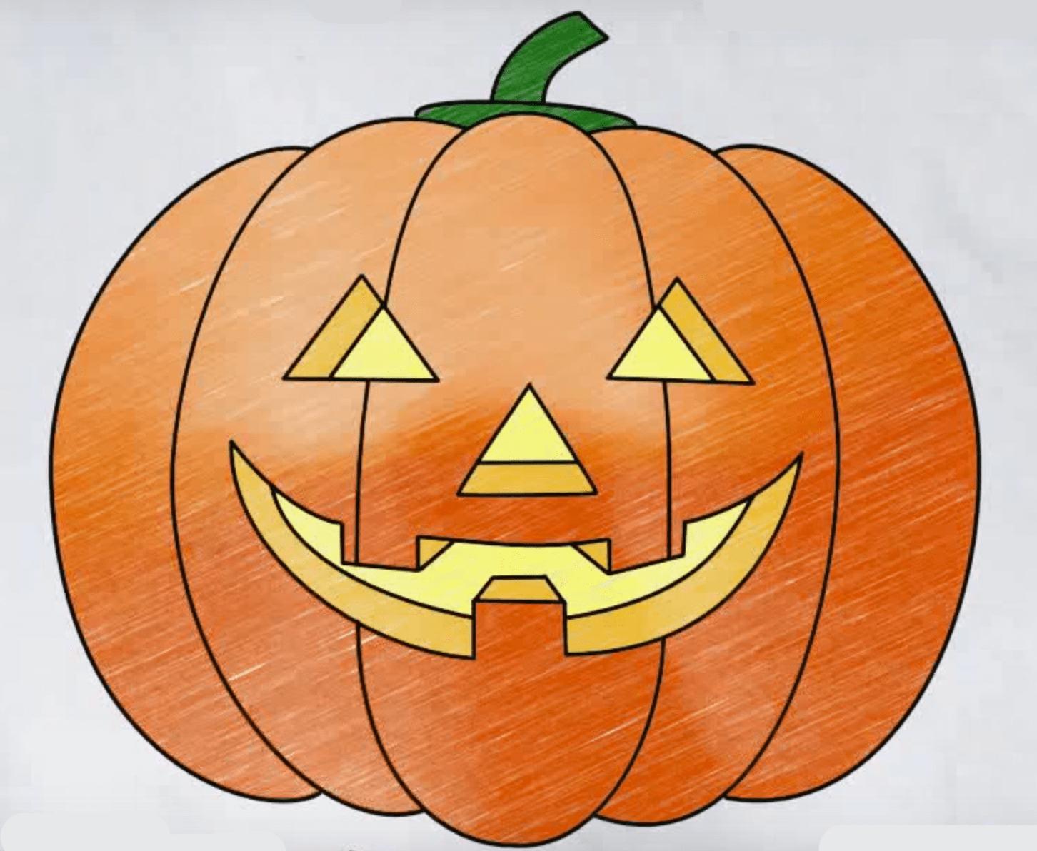 картинки для хэллоуина рисовать примеры качок присунул