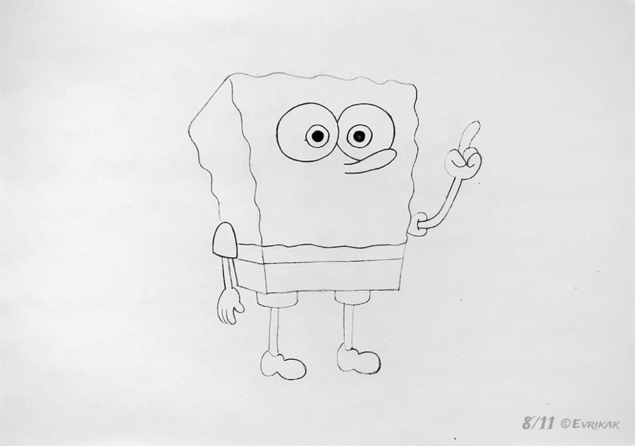 Рисунки для срисовки карандашом легкие прикольные для мальчиков