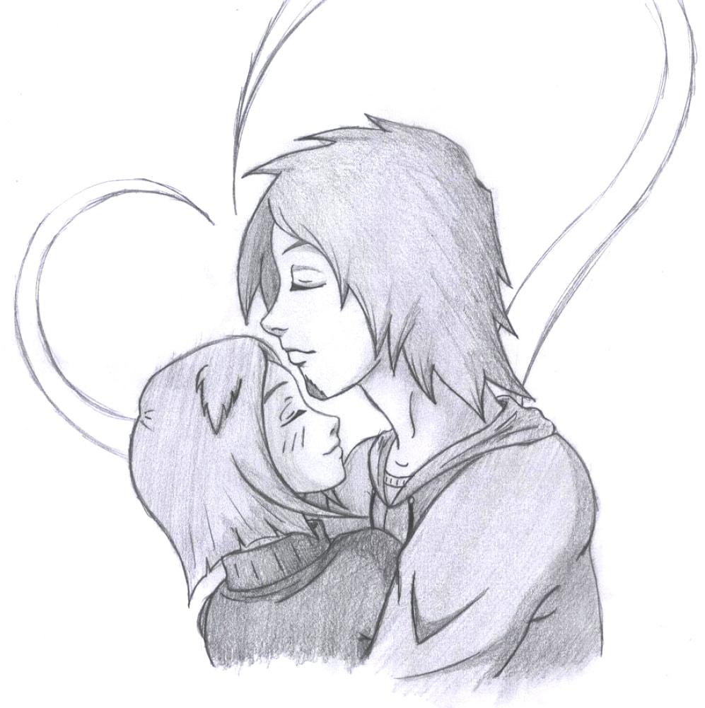 Картинки любовь срисовать