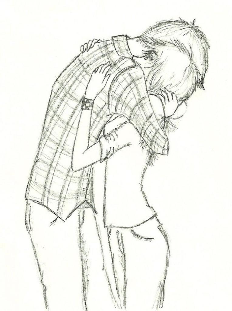 Крутые рисунки для срисовки про любовь