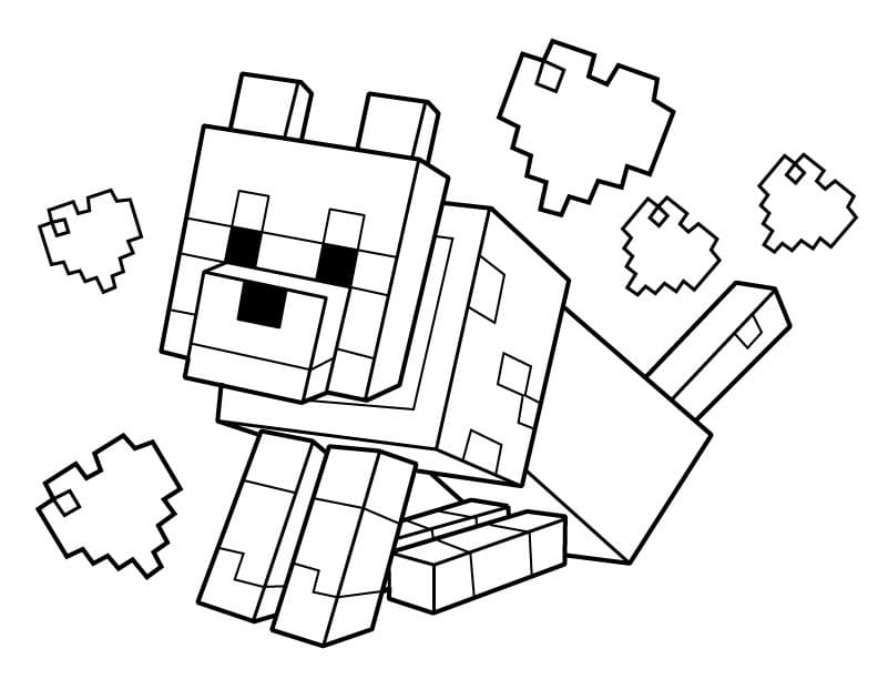 Картинки для срисовки Майнкрафт