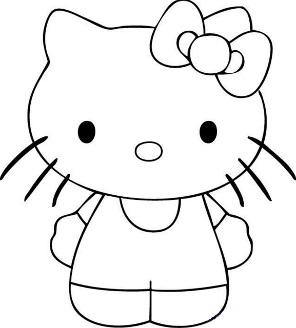 Картинки для детей для срисовки легкие и красивые