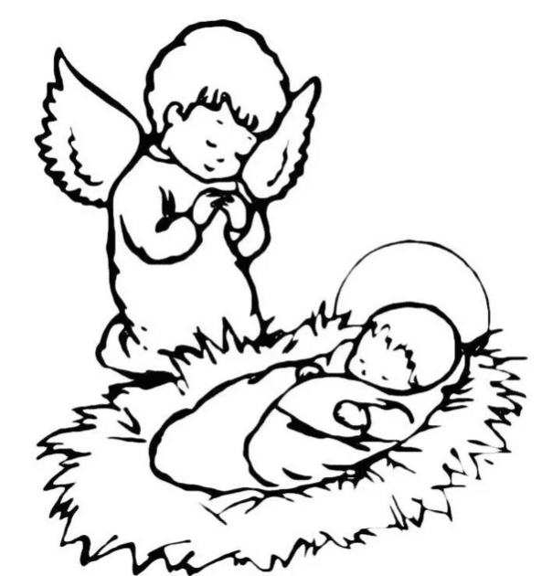 Лет, нарисовать открытку с новорожденным простым карандашом
