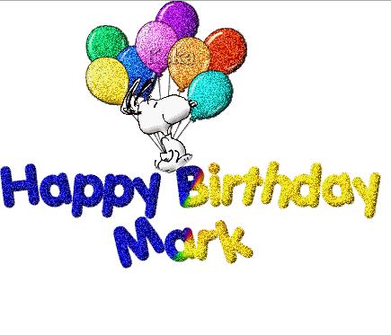 Днем, открытка с днем рождения по имени марк