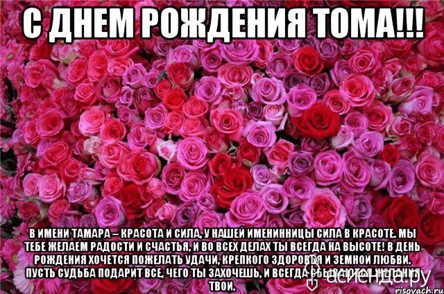 Именная открытка тамара с днем рождения, казахском