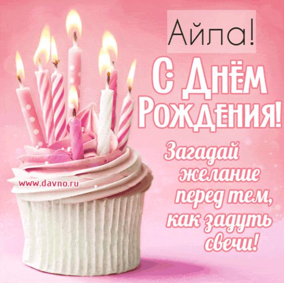 Картинки с днем рождения Айлы