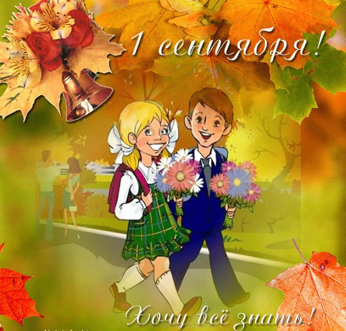 День знаний картинки поздравления красивые